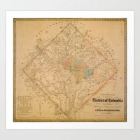 Civil War Washington D.C… Art Print