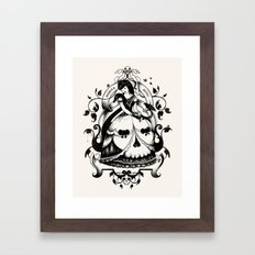 Mrs. Death II Framed Art Print