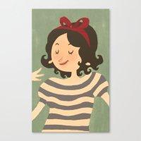 Stripes #1 Canvas Print