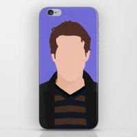 Ryan Reynolds Portrait iPhone & iPod Skin