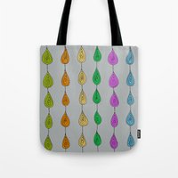 Candy Raindrops Tote Bag