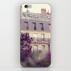 paris charm iPhone & iPod Skin