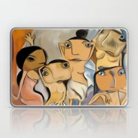 Les Demoiselles d'Avignon Laptop & iPad Skin