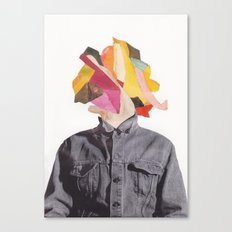 Head Canvas Print