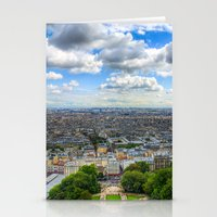 Paris From The Sacre Cou… Stationery Cards