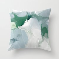 Greenpeace Lily Throw Pillow