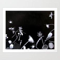 natural elements II Art Print