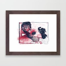 Hockey! Framed Art Print