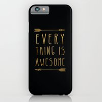 iPhone & iPod Case featuring Everything is Awesome by Sandra Arduini