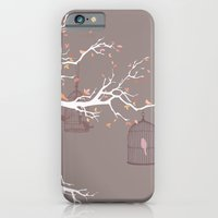 iPhone & iPod Case featuring Irony of Birds by Carolina Carselle