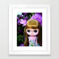Floral Blythe Framed Art Print