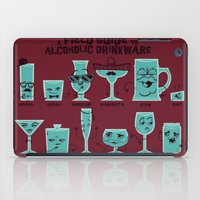 Field Guide to Alcoholic Drinkware iPad Case