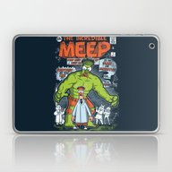 Laptop & iPad Skin featuring Incredible Meep by Hoborobo