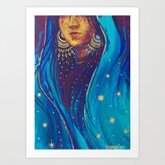 A Mystic Art Print