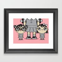 Some Girls Are Bigger Th… Framed Art Print