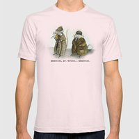 Sherlock Holmes wisdom Mens Fitted Tee Light Pink SMALL