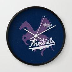 Thestrals Wall Clock