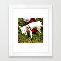 Leave Your Mark Framed Art Print