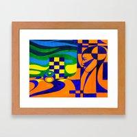 Evolution Of The Mind Framed Art Print