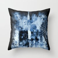 rain walker redux Throw Pillow