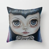 Baby Vamp Throw Pillow