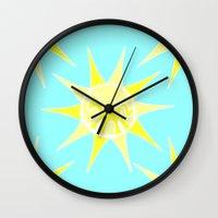 Unicorn Sun Wall Clock