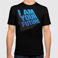 I am Your Future! Mens Fitted Tee Black SMALL