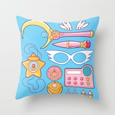 Moonie Starter Kit Throw Pillow
