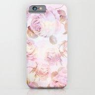 Delicate Pink Roses iPhone 6 Slim Case