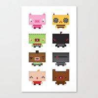 Boxies Canvas Print
