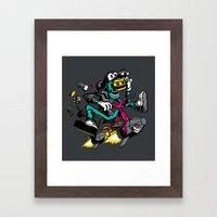 JOY RIDE! Framed Art Print