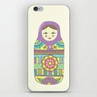 Russian Doll iPhone & iPod Skin