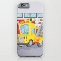 tow truck iPhone 6 Slim Case