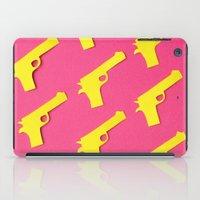 Guns Papercut iPad Case