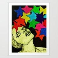 Star Goddess Art Print