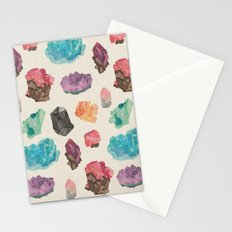 Raw Gems Stationery Cards