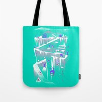 Penguins (flat, Palette … Tote Bag
