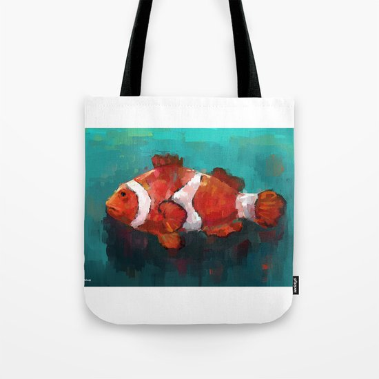 Red Clown Tote Bag