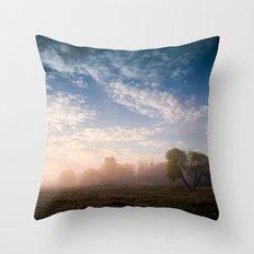 July morning 2 Throw Pillow