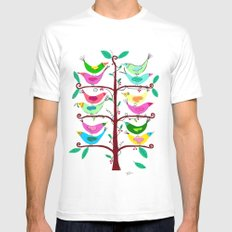 Tree of Life Mens Fitted Tee SMALL White