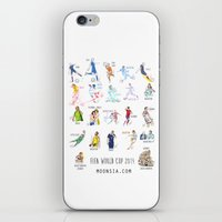 FIFA World Cup 2014 Moments! iPhone & iPod Skin