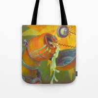 DickBot Attacked By Bitc… Tote Bag