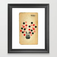 Hull Framed Art Print