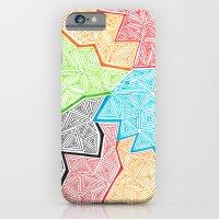 iPhone & iPod Case featuring Trianglez by Kayla Gordon