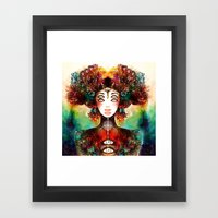 SECRECY Framed Art Print