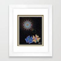 When Butterflies breach the Sound Barrier Framed Art Print