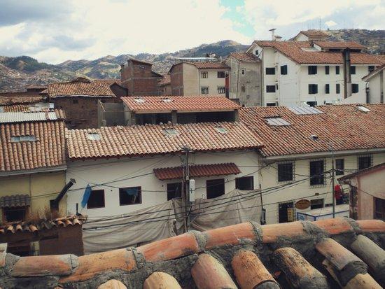 Cusco Rooftops Art Print