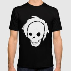 Inverted Self Portrait SMALL Black Mens Fitted Tee