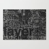 Layer. Canvas Print