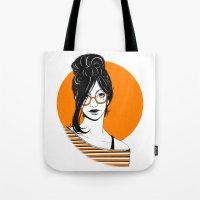 GIRL 01 Tote Bag